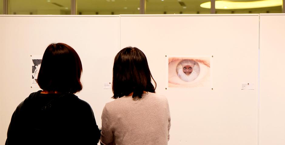"""On Tuesday, December 6, the NYU Shanghai Art Gallery showed the work of students from Introduction to Photography at the """"Image-ination"""" exhibit."""