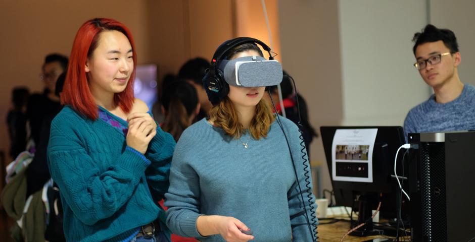 互动媒体艺术(IMA)专业的期末秀是上海纽约大学的传统节目之一,也是每年寒假前,教学楼里的完美收官之笔。12月15日,两小时的秀场,同学们以各自力作展示一学期以来的所学技能与创意巧思。
