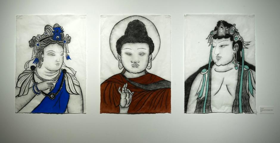 """""""Buddhas with Dunhuang Colors""""——2019届吴羽诗"""