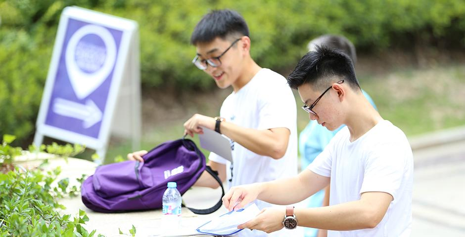 Students from 39 countries moved into their dorms today, marking the start of their NYU Shanghai journey.  Welcome to your new home, Class of 2020!  (Photo by: Dylan J Crow)