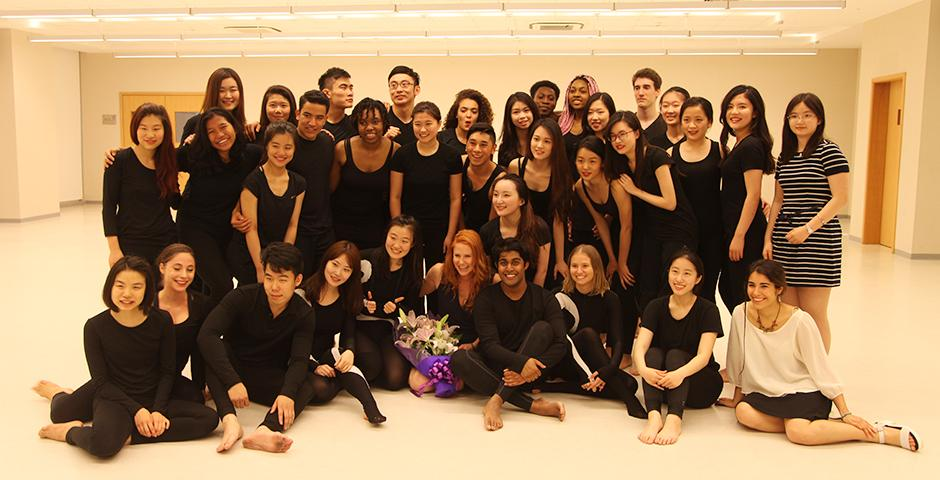 The Performing Arts at NYU Shanghai Celebration led by professors Dianna Heldman and Alyssa Rose on May 6 saw a heady mix of musical and dance performances by students. (Photos by: NYU Shanghai)