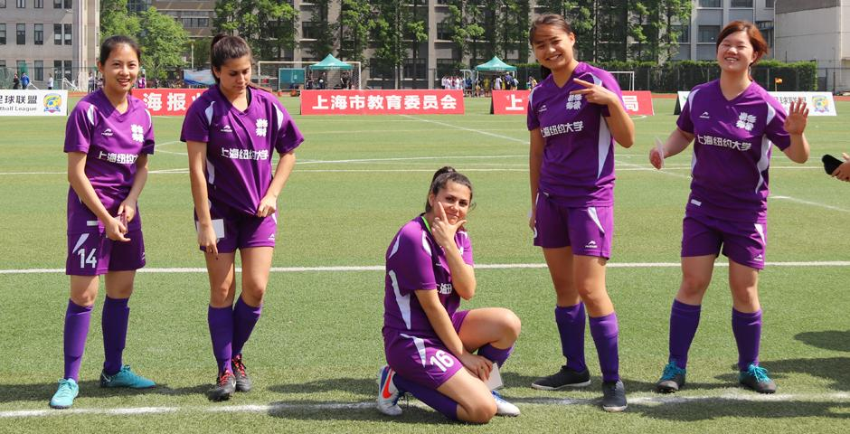 The match took place on Thursday at Shanghai University of Finance and Economics, with dozens of NYU Shanghai supporters there to cheer the team on.