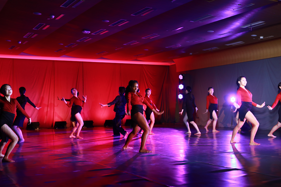 December 9:  Students in Ballet, Contemporary, Chinese Minority & Folk, and Choreography & Performance dance classes showcased their final works at this year's fall dance concert.