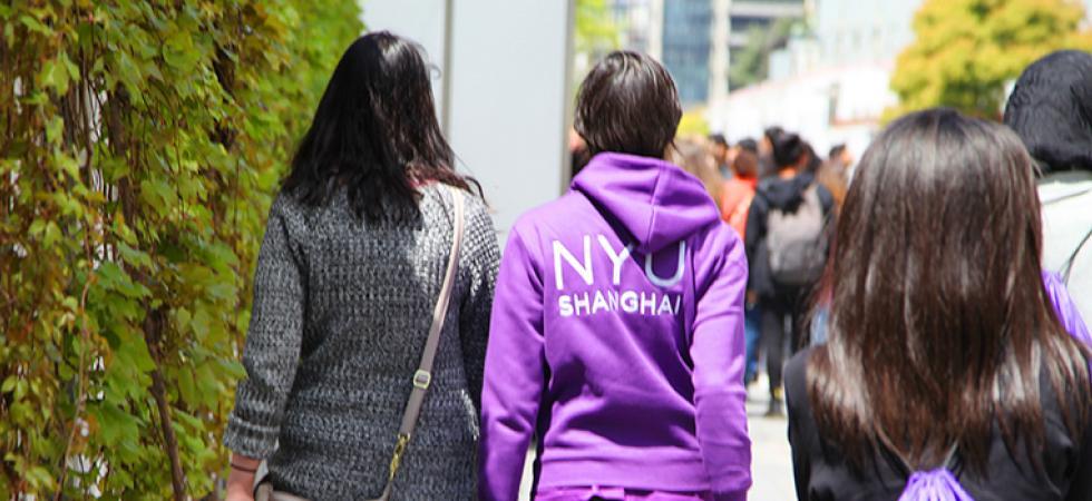 Shanghai students walking