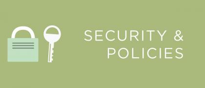 Security and Policies